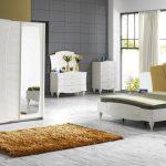 İpek mobilya krem yatak odası modelleri volga