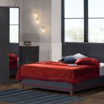Kilim mobilya yatak odası takımları alya gri