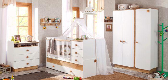 Çilek Bebek Odası Modeli Natura Baby Lookbook