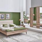 Kelebek mobilya modern yatak odası takımları   queen