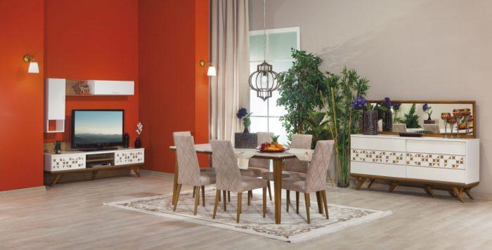 Moda Life Yemek Odası Takımı Leonis Modeli