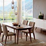 Alfemo mobilya modern yemek odası takımı arven