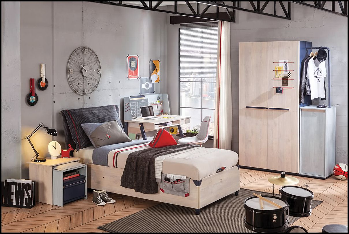 Çilek mobilya genç odası