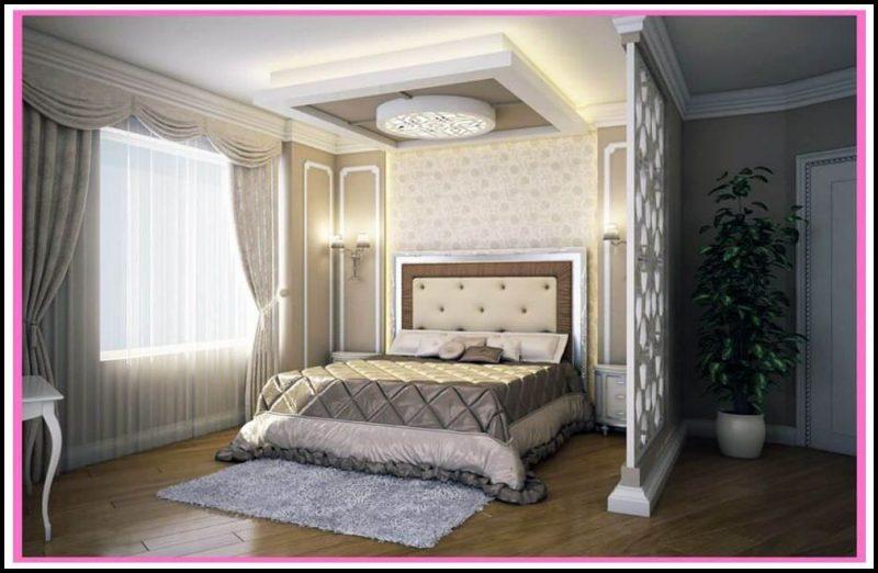 Yatak odası için asma tavan