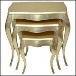 Altın varak sehpa modelleri