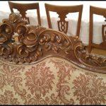 Antika koltuk işlemesi