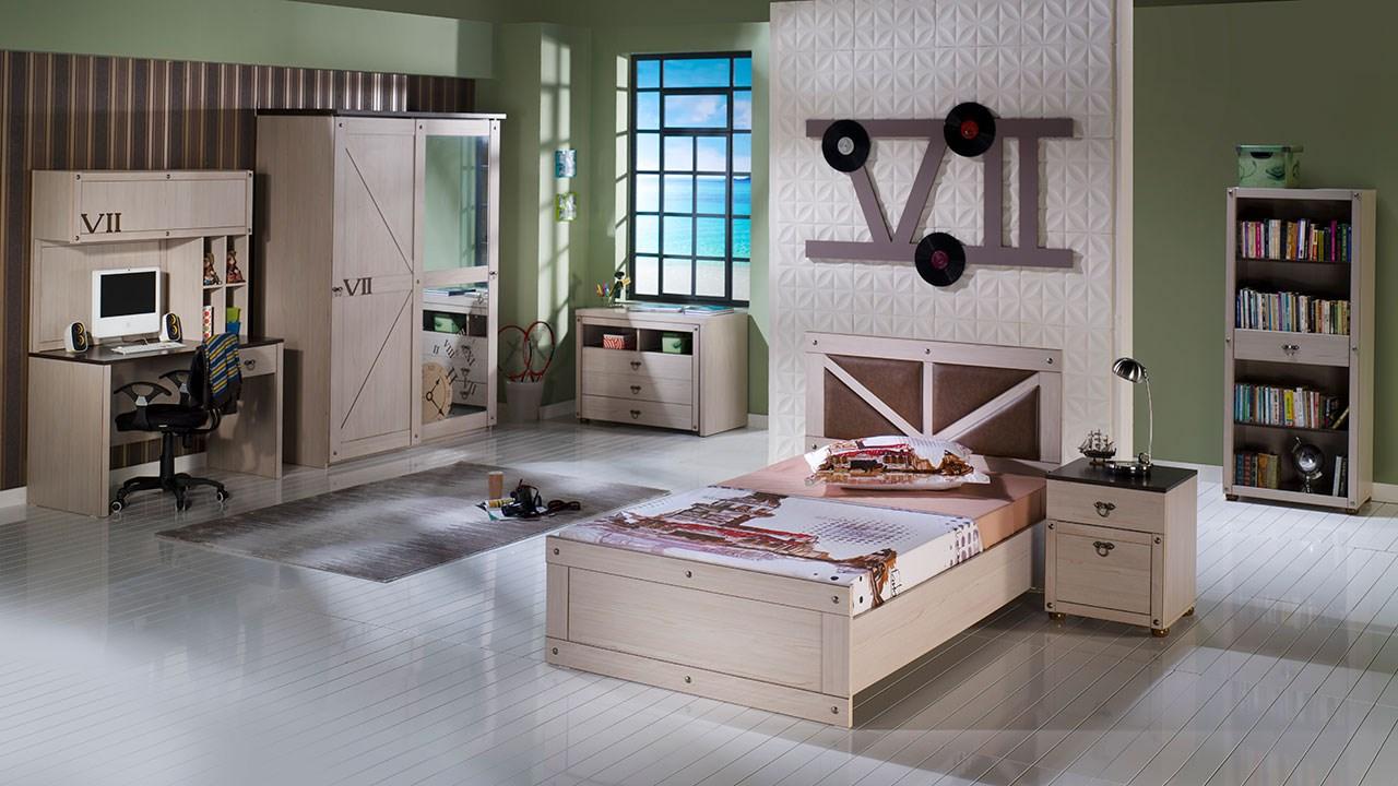İstikbal ahşap genç odası modelleri seven