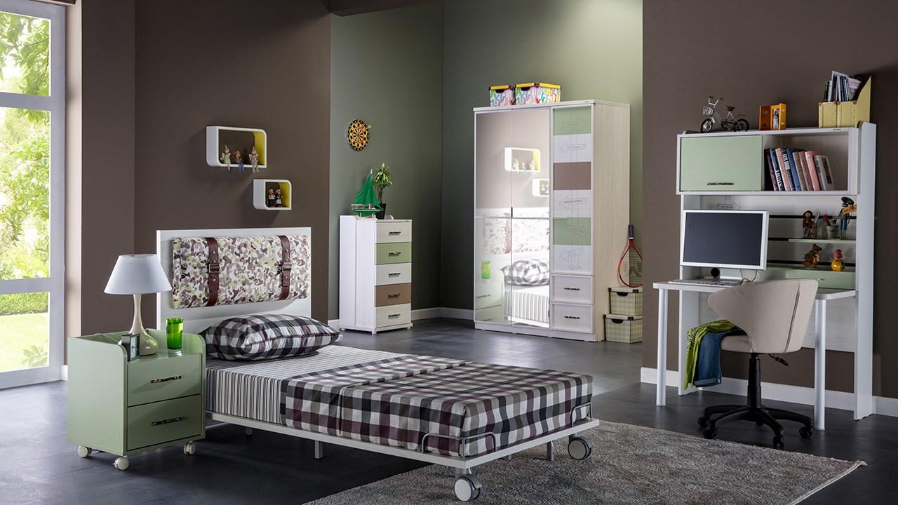 İstikbal mobilya genç odası dekorasyonu kamp