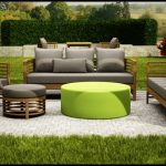 Çam ağacı bahçe mobilyası