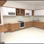 Ceviz mutfak dolapları