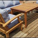 Gürgen ağaç bahçe mobilyası