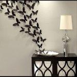 Kelebek duvar süsleme