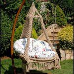 Salıncak bahçe mobilyası