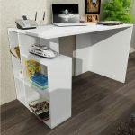 Dekorister çalışma masası beyaz
