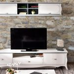 Alfemo beyaz tv üniteleri