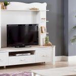 Alfemo beyaz tv ünitesi modelleri  alaçatı solo