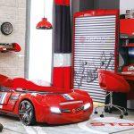 Çilek arabalı genç odası takımı