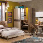 Çilek genç odası takımı lofter