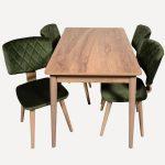Koçtaş ahşap masa ve sandalye modelleri fulya