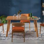 Mondi bianca yemek masa sandalye takımı yeşil turuncu