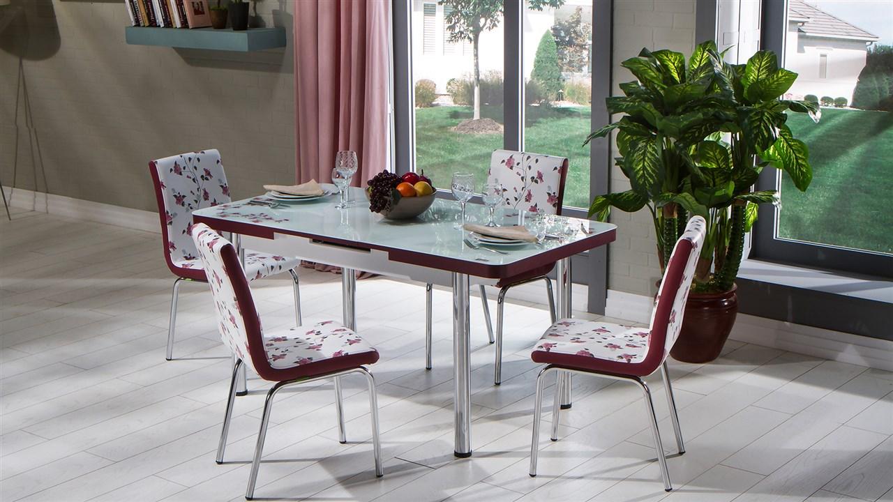 Mondi lilyum mutfak masa sandalye