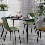 Mondi mobilya silva masa sandalye siyah