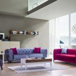 Albimo mobilya renkli koltuk takımı milano