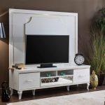Bellona beyaz tv ünitesi  volga