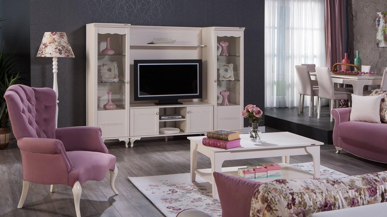 İstikbal tv ünitesi dekorasyonu perla