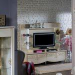 İstikbal tv ünitesi dekorasyonu rustik