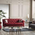 İpek mobilya modern koltuk takımları violet