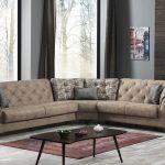 İpek mobilya modern köşe takımı violet