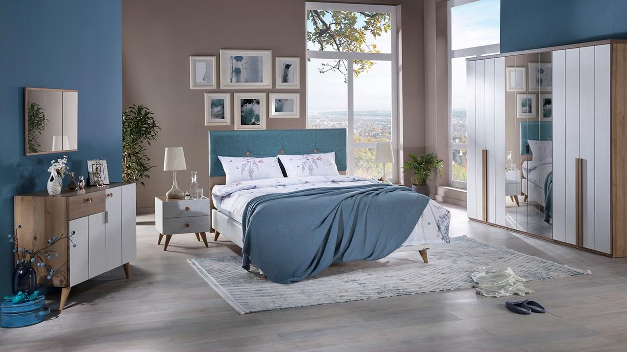 İstikbal mobilya yatak odası modelleri santino