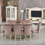 Kilim mobilya yemek odası dekorasyonu hanzade
