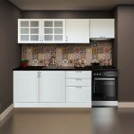 Koçtaş bdrm aspiratör modüllü membran mutfak dolabı beyaz