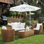 Koçtaç blooma bahçe mobilya seti barbados modeli