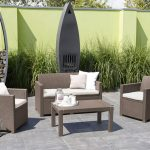 Koçtaş blooma merano bahçe mobilyası seti