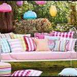Bahçe daybed kanepe