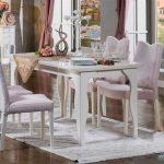 Küçük klasik masa sandalye takımı  belissa