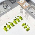 Koçtaş mutfak paspasları elma