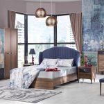Bellona ceviz lacivert yatak odası  selegno