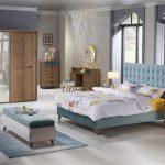 Bellona modern ceviz yatak odası takımı  vienza