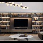 Kitaplık tv ünitesi