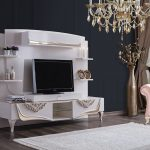 Weltew mobilya klasik tv ünitesi modelleri çırağan