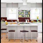 Açık gri mutfak modelleri