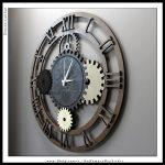 Çarklı duvar saati