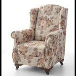 Çiçek desenli koltuk kumaşı