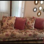 Çiçekli kanepe kumaşları