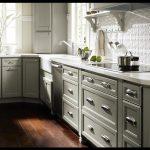 Gri beyaz mutfak