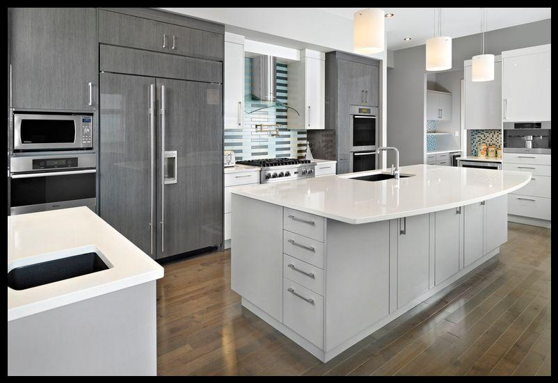 Gri mutfak dolabı modelleri